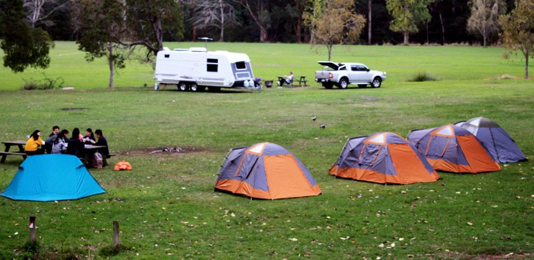 Camping around Melbourne/ Victoria~