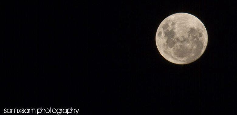 SuperMoon & Bokeh Magic..