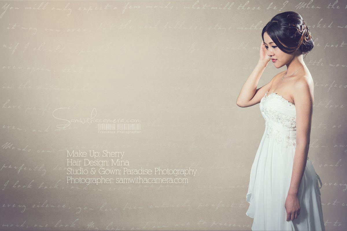 Korean style bridal Hair and Make up Shoot