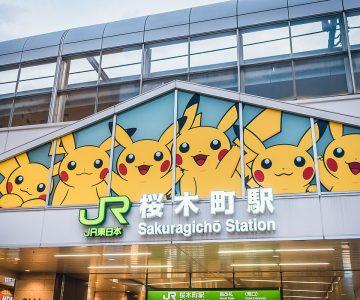 Japan Trip v3.0 - Yokohama Pikachu Town~!