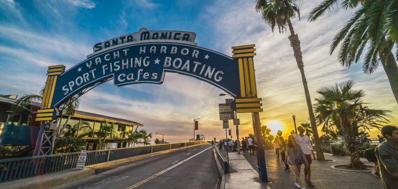 US TRIP 2107 - Santa Monica