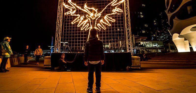 Docklands Firelight Festival 2019